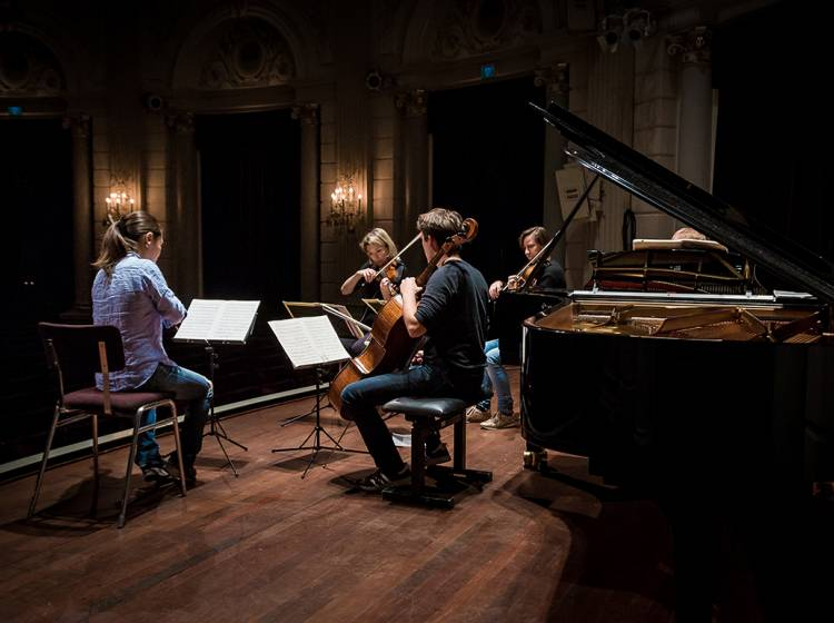 Piano Quartet in A Minor and Strauss' Metamorphosen