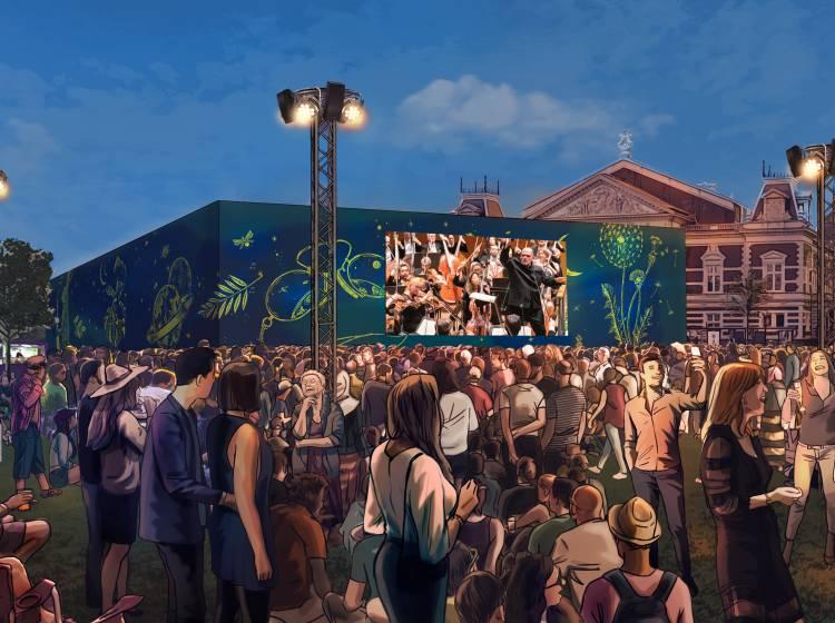 Concertgebouw announces programming for Mahler Festival's Pavilion on the Museumplein